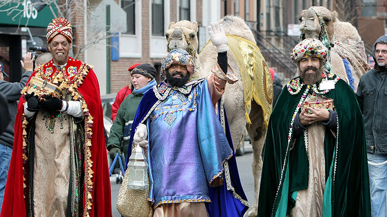 Epiphany, commonly known as Three Kings' Day celebrates the three wise men's visit to baby Jesus and also remembers his baptism, according to the Christian Bible's events.   Epiphany is one of the oldest Christian feasts. It was celebrated since the end of the second...
