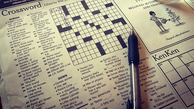Today we celebrate the birthday of the crossword puzzle, that criss-cross table of craziness and insanity that has distracted commuters and early risers at Sunday breakfast for decades.  There are two stories to the birth of this puzzle: the first involves an Italian magazine in 1890.  The Italian...