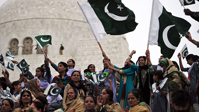 Pakistan Day (Youm-e-Pakistan) or Pakistan Resolution Day also Republic Day is a national holiday in Pakistan to commemorate the Lahore Resolution of 1940[1] and the adoption of the first constitution of Pakistan during the transition of the Dominion of Pakistan to the Islamic Republic of Pakistan...
