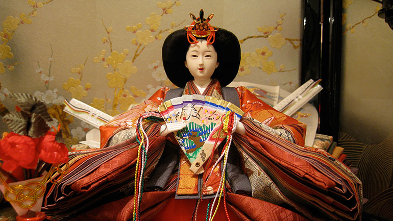 Hinamatsuri (Hina-matsuri, hina means dolls and matsuri means festival), also called  Doll's Day  or  Girls' Day , or