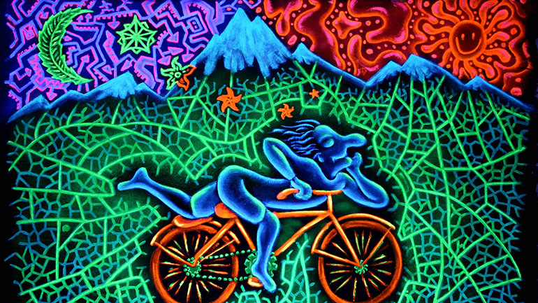 Bicycle Day Marks Anniversary Of First Acid Trip In History. Swiss chemist Albert Hofmann first synthesized the psychedelic drug Lysergic acid dethylamide (LSD), commonly known as acid, on Nov. 16, 1938, but it was not until April 19, 1943, that he intentionally took the drug and experienced...