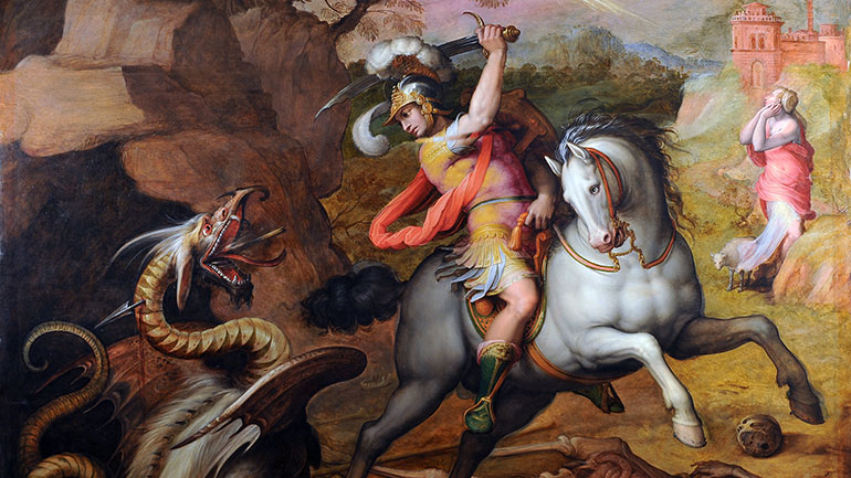 Saint George's Day is celebrated on 23 April, the traditionally accepted date of Saint George's death in AD 303. For Eastern Orthodox Churches, which use the Julian calendar, 23 April currently falls on 6 May on the Gregorian calendar. It is celebrated by various Christian churches and by the...