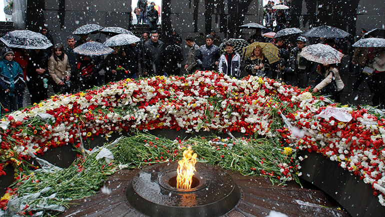 Genocide Remembrance Day or Genocide Memorial day, is a national holiday in Armenia and Nagorno-Karabakh Republic and is observed by Armenians in dispersed communities around the world on April 24. It is held annually to commemorate the victims of the Armenian Genocide from 1915 to 1923. In...