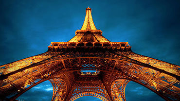 Eiffel Tower Opened