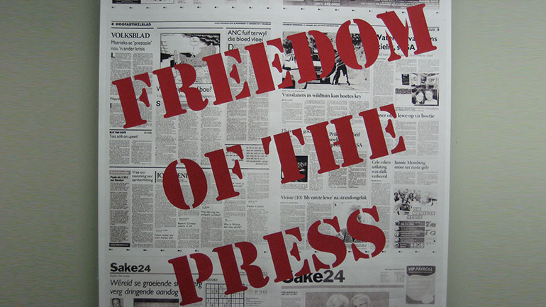 Every year, May 3rd is a date which celebrates the fundamental principles of press freedom; to evaluate press freedom around the world, to defend the media from attacks on their independence and to pay tribute to journalists who have lost their lives in the exercise of their profession.  3...