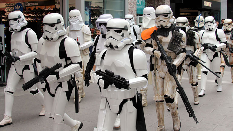 Star Wars Day is an unofficial holiday in May honoring the space opera franchise Star Wars created by George Lucas.   May 4 is considered a holiday by Star Wars fans to celebrate the franchise's films series, books and culture. The date was chosen as