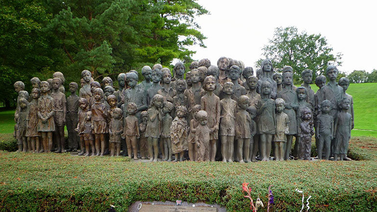 Anniversary of the razing of the village of Lidice and the massacre of its people by the Nazis on June 10, 1942, in revenge for the assassination of Reinhard Heydrich by Czech agents of the Allies. 