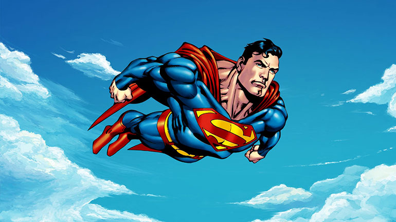 Faster than a speeding bullet, more powerful than a locomotive, able to leap tall buildings in a single bound. It's a bird, it's a plane, no, it's Superman!  Superman first appeared in
