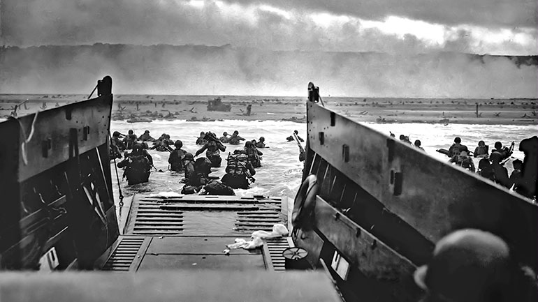 The Normandy landings, codenamed Operation Neptune, were the landing operations of the Allied invasion of Normandy, in Operation Overlord, during World War II. The landings commenced on Tuesday, 6 June 1944 (D-Day), beginning at 6:30 am British Double Summer Time (GMT+2). In planning, as for most...