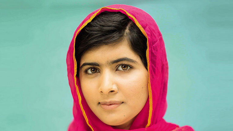 'The terrorists thought they would change my aims and stop my ambitions, but nothing changed in my life except this: weakness, fear and hopelessness died. Strength, power and courage was born ... I am not against anyone, neither am I here to speak in terms of personal revenge against the Taliban or...