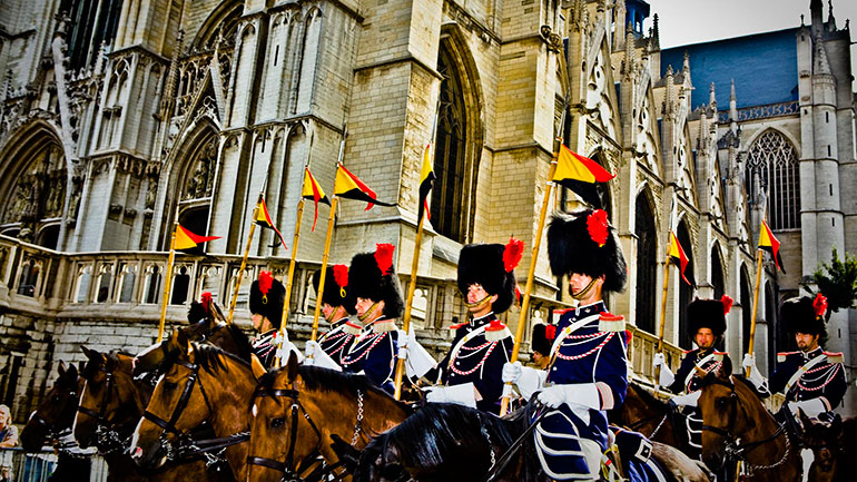 Belgium is an ancient and yet still young nation. Belgians were first mentioned about 2,000 years ago (by Julius Caesar in his book on the Gallic Wars). Nevertheless, Belgium was for centuries part of a larger state structure. The independant State of Belgium was born on October 4, 1830.<br...