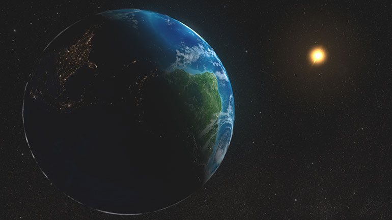 Aphelion Day is the day that the Earth and Sun are at their furthest distance from each other. Every July the Earth is at aphelion, the furthest from the Sun for the year and in January it is at perihelion, the closest to the Sun for the year.  The Earth's annual orbit around the Sun will...