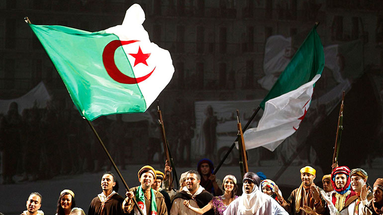 July 5 is celebrated in Algeria as Independence Day, in remembrance of actual independence from France in 1962. After being taken by the French in 1830, Algeria remained under France's control for 132 years.   <b>History</b> Historical evidences state that since 10,000 BC, Berbers...