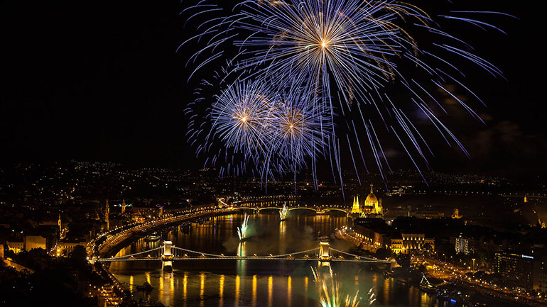 St. Stephen's Day is celebrated in Hungary on the 20th of August each year. It is also known as Foundation Day, Constitution Day, National Day and the 'Day Of The New Bread'.  St. Stephen of Hungary (Szent István király) was the first king of Hungary and he laid the foundation of the state...