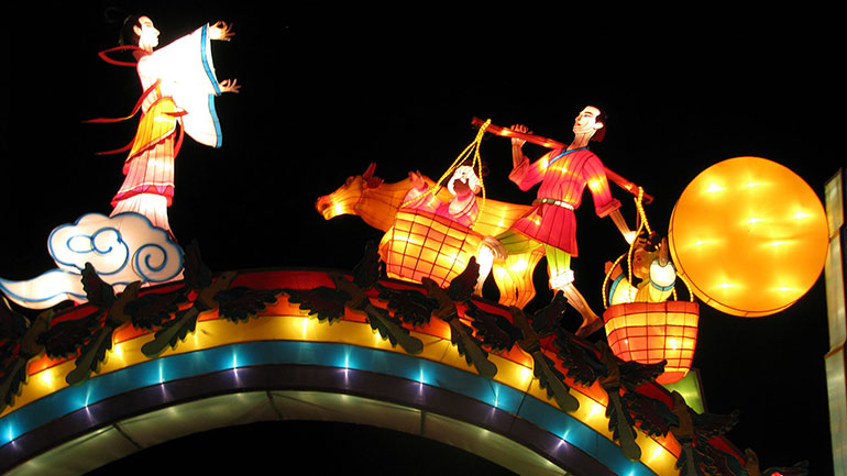 Qixi Festival (Chinese: 七夕節), also known as the Qiqiao Festival (Chinese: 乞巧節), or Double Seventh Festival, is a Chinese festival that celebrates the annual meeting of the cowherd and weaver girl in Chinese mythology. It falls on the seventh day of the 7th month on the Chinese...