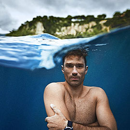 At 11.18 on 6th September 2006 French freediver, Guillaume Nery, has set a new world record in the Constant Weight Discipline with a 109m dive in 2min 55sec. 