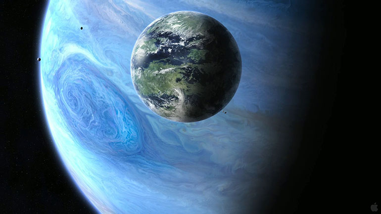 Neptune is the eighth and farthest planet from the Sun in the Solar System. It is the fourth-largest planet by diameter and the third-largest by mass. Among the gaseous planets in the solar system, Neptune is the most dense. Neptune is 17 times the mass of Earth and is slightly more massive than...