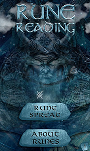 Rune Reading main screen